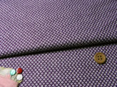 和風コットン生地・かのこ柄(紫)