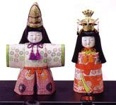 木目込人形キット・立ひな・11号