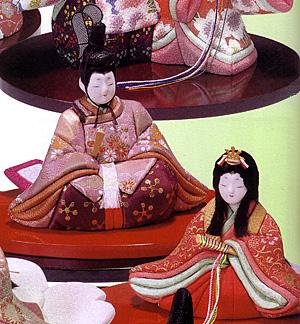 キット・木目込人形・親王飾・幸春