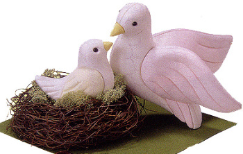 木目込人形キット・愛の鳥