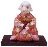 木目込人形キット・可愛い十二支・未