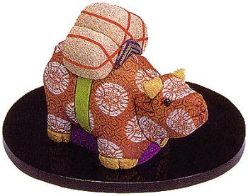木目込人形キット・十二支・丑