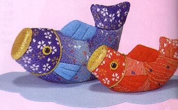 キット・木目込人形 親子出世鯉