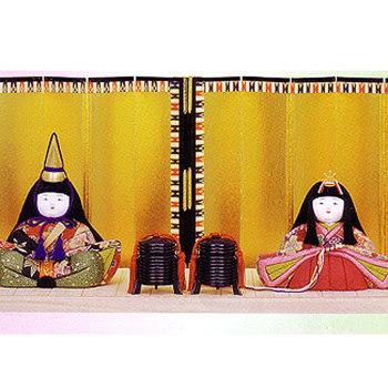 木目込雛人形キット・親王飾・花楽久