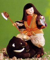 キット・木目込人形 金太郎
