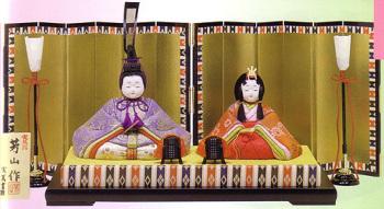 木目込雛人形キット・親王飾・弥生