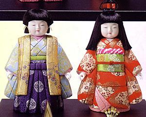 キット・木目込人形・桃の春