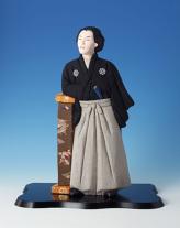 キット・木目込人形・坂本龍馬像