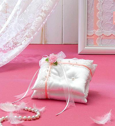 キット・天使のロイヤルリングピロー(ピンク)