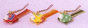 キット・幸せを呼ぶ 彩キーホルダー 亀