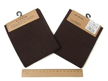 コットン生地・あづみ野木綿(錆紫):カット布・54×45cm