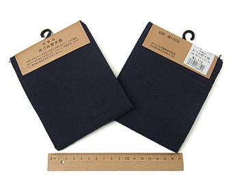 コットン生地・あづみ野木綿(藍鉄):カット布・54×45cm