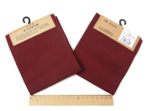 コットン生地・あづみ野木綿(深紅):カット布・54×45cm