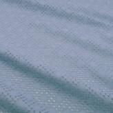 綿レース生地 国産60ローン(50cmカット) ドット柄・くすみブルー
