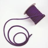 ちりめん丸ひも・無地・5ミリ 紫