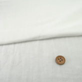 ダブルガーゼ生地(接触冷感+吸湿冷感加工) オフ白