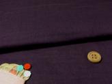 無地ダブルガーゼ(深紫)