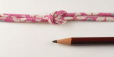 ちりめん丸ひも・柄・2ミリ(実寸約3ミリ) 花笑み・ピンク