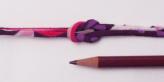 ちりめん丸ひも・モダン柄・2ミリ(実寸約4ミリ) 椿心・紫