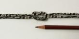 ちりめん丸ひも・小紋調柄・3ミリ(実寸約4ミリ) 亀甲