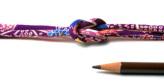 ちりめん丸ひも・柄・4ミリ(実寸約5-6ミリ) 桜かのこ・紫