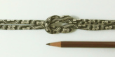 ちりめん丸ひも・小紋調柄・4ミリ(実寸約5-6ミリ) 亀甲