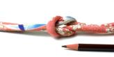 ちりめん丸ひも・柄・8ミリ(実寸約9-10ミリ) 緋桜・ピンク
