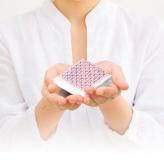 刺し子キット ハンカチiine/イーネ りんご