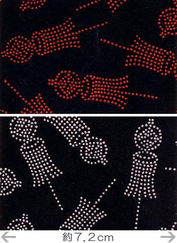 印伝調生地・まとい(92×50cm)