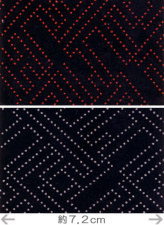 印伝調生地・さやがた(92×50cm)