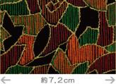 印伝調生地・モザイク柄(92×50cm)