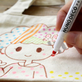 布に描けるドットペン/ヌノデコペン ドット