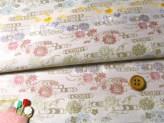 金らん・五色花と流水(白)