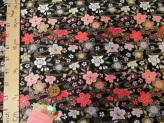 金らん・水面の桜(黒)