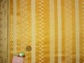 金襴生地(金らん)和の縞模様(ゴールド)