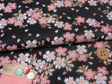 金らん・和桜(黒/ピンク)