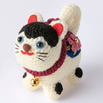干支編みぐるみキット・張り子の犬
