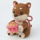 干支編みぐるみキット・手まりワンコ