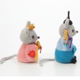 ひな祭り 編みぐるみ キット・雛ねずみ