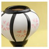 陶器製ミニぼんぼり