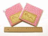 ちりめんカットクロス・小桜(ピンク)23×33cm