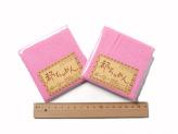 ちりめんカットクロス・鮫小紋(ピンク)23×33cm