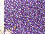 ちりめん生地・華かんざし(紫)
