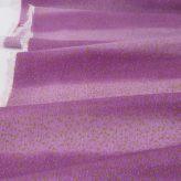 ちりめん生地 段ぼかしに金銀ふぶき(紫)