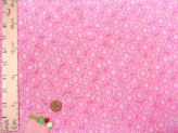 ちりめん生地・菊紋(ピンク)