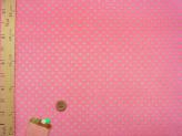 ちりめん生地・みずたま(ピンク)