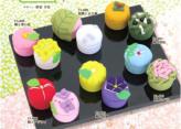 ちりめんキット・和菓子マグネット 全12種類セット