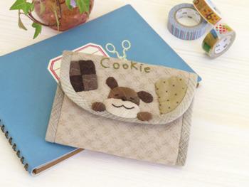 キット・クッキー大好きわんこのカードケース