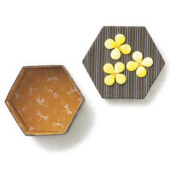 手芸キット 和柄の玉手箱 菜の花畑