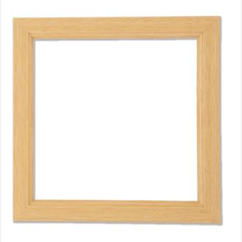 木製額/フレーム 白木(24cm角)